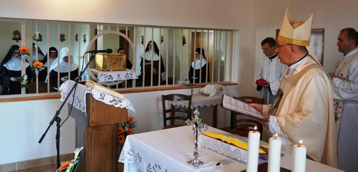 Požeške klarise svetom misom obilježile blagdan sv. Klare