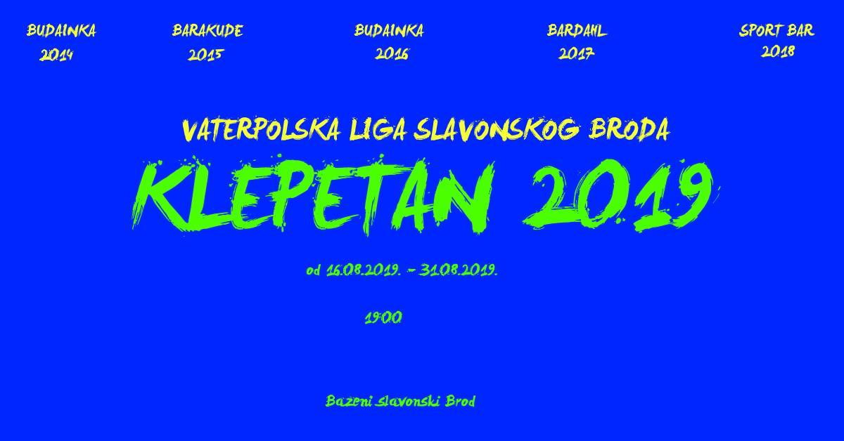 Danas počinje 6.po redu vaterpolo kup za građane Slavonskog Broda