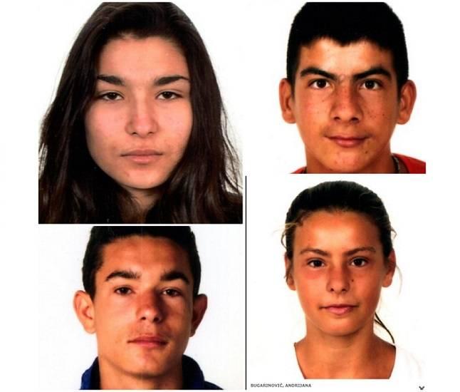 Pronađeno četvero maloljetnika- Katarina, Andrijana, Jovo i Zlatko