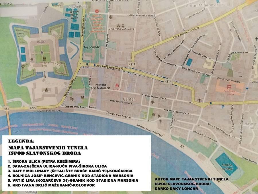NEVJEROJATNO OTKRIĆE: Pogledajte mapu tajanstvenih prolaza ispod Slavonskog Broda - grada podzemnih tajanstvenih tunela