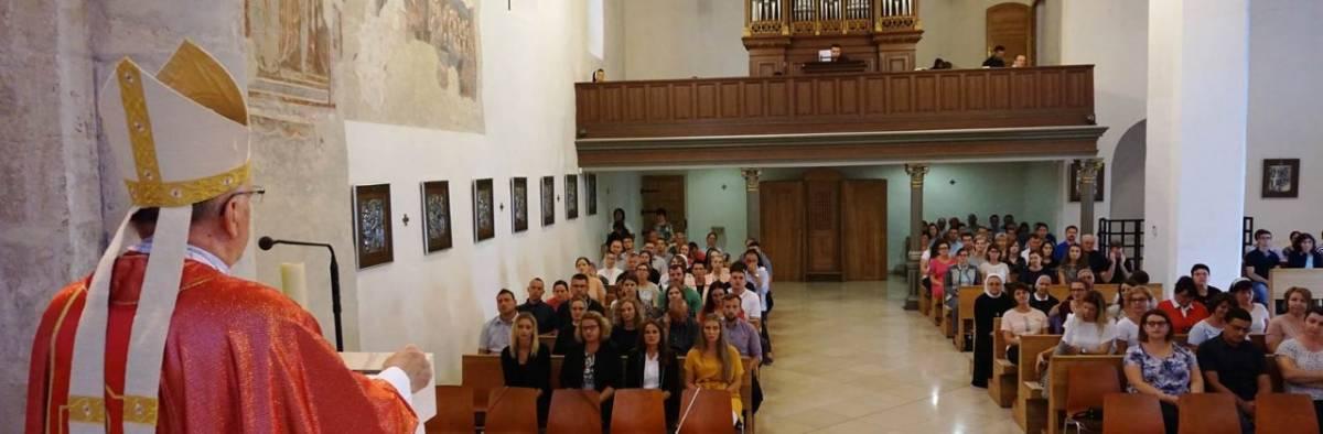 Susret vjeroučitelja u Požegi pred početak nove školske godine