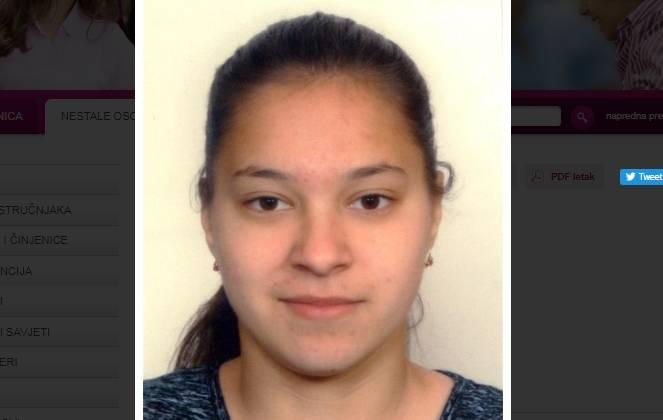 Pronađena 16-godišnja Matea Džanija