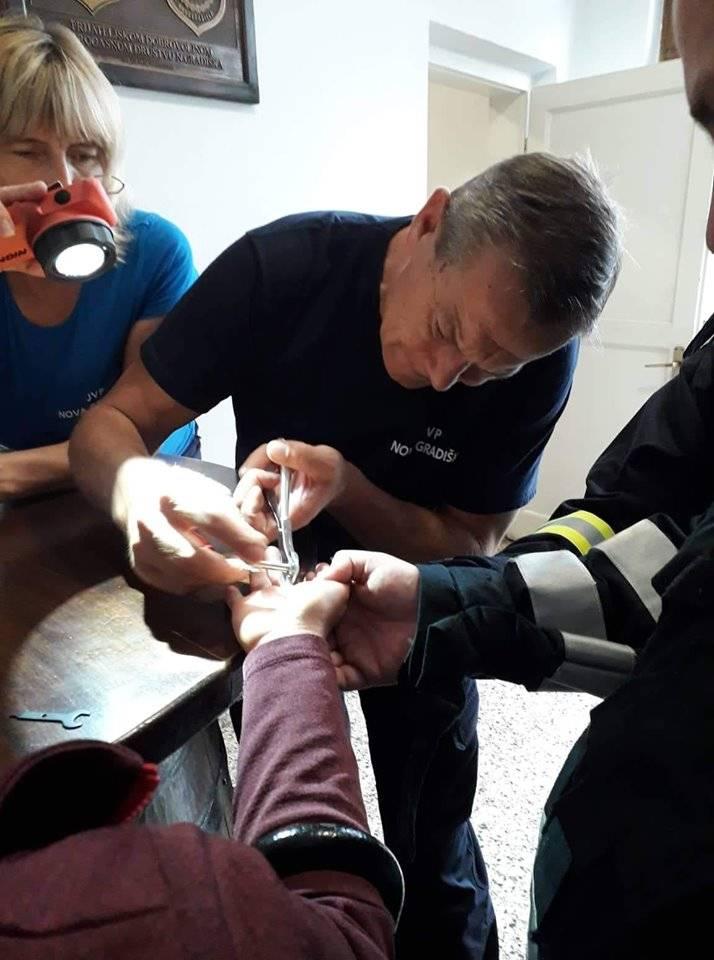JVP Nova Gradiška- Vatrogasci uspješno skinuli još jedan prsten