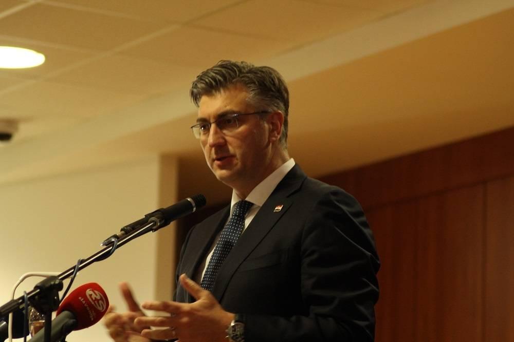 Premijer Plenković u Orahovici izrazio zadovoljstvo dinamikom provedbe projekta Slavonija, Baranja i Srijem