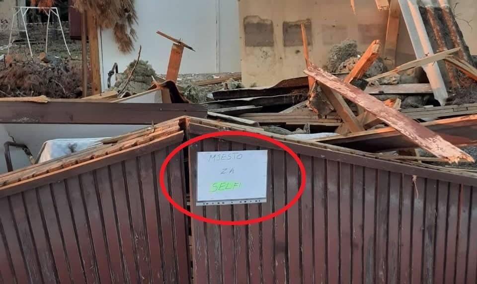 HOROR u Brodskom odmaralištu u Korčuli, pogledajte video uništavanja brodske imovine... pogledajte stvarno stanje brodskog odmarališta