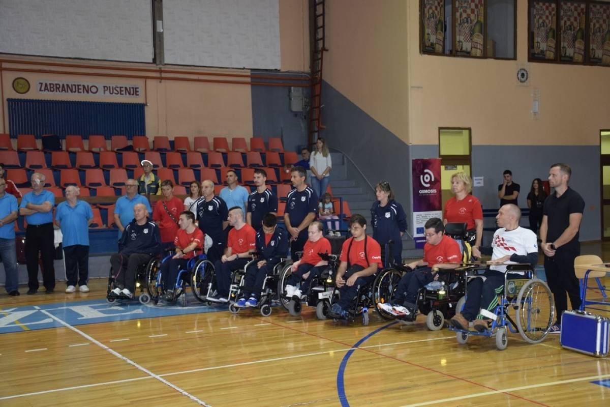 4. kolo Prvenstva Hrvatske za osobe s invaliditetom održano u Požegi