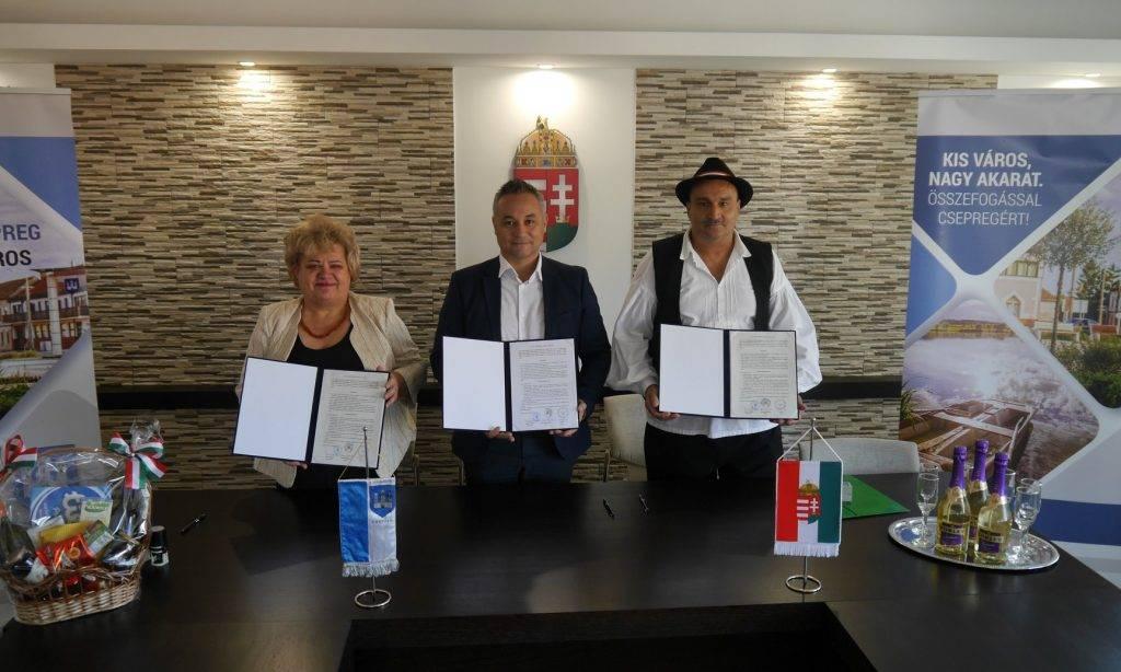 Društvo Mađara Pakrac: Sporazum s gradom Csepregom kao nastavak suradnje