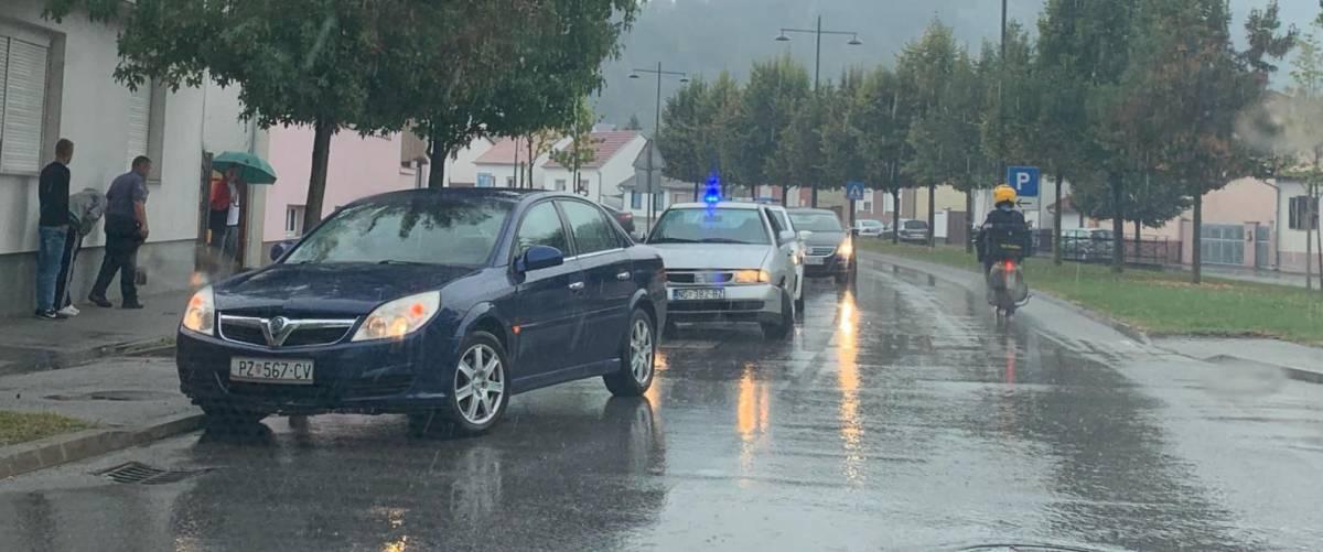 Prometna nesreća u Orljavskoj ulici u Požegi
