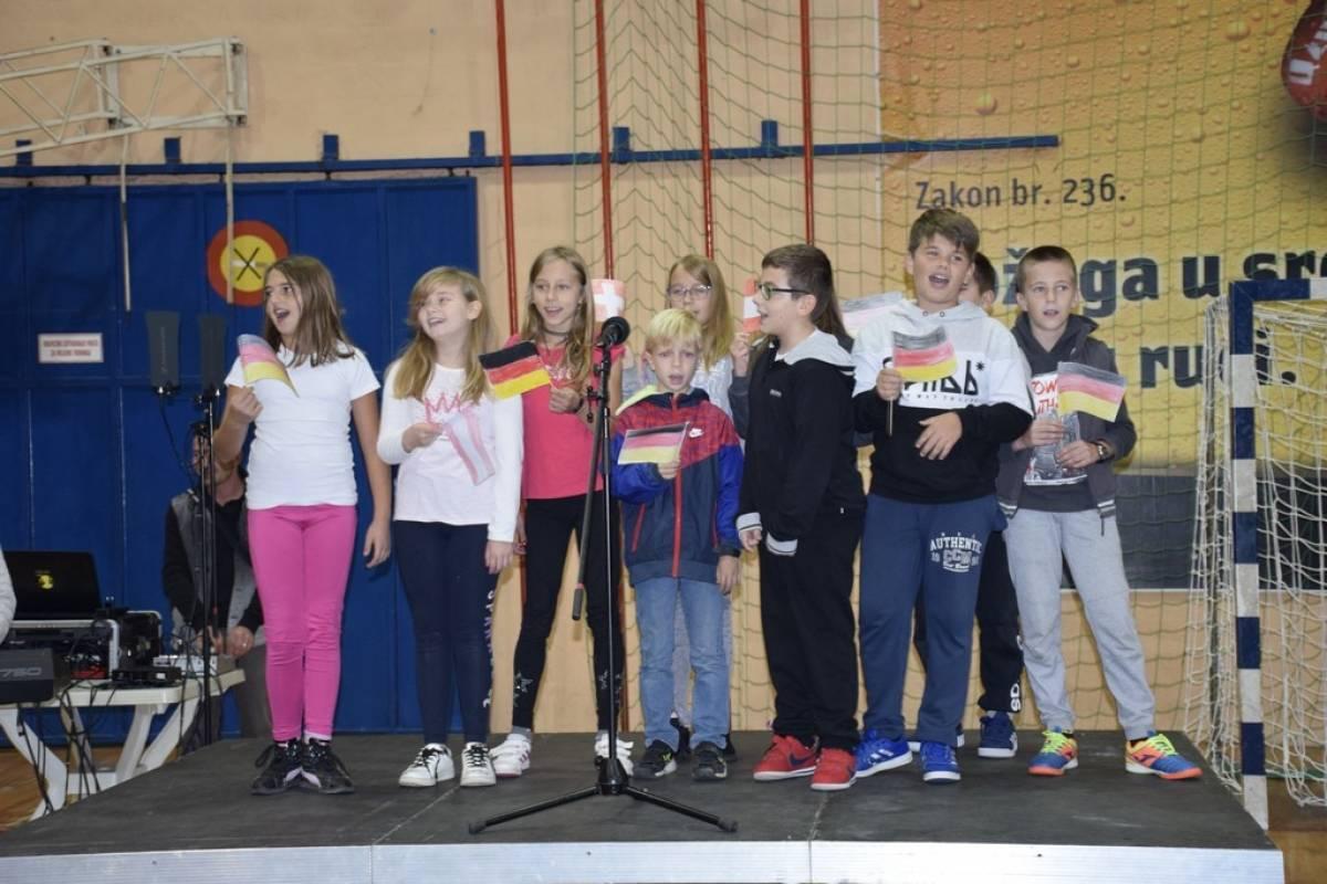 Školarci i vrtćiraci iz Požege jučer obilježili Europski dan jezika