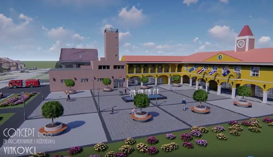 Slavonski Šamac pravi općinski trg dostojan svakog gradskog