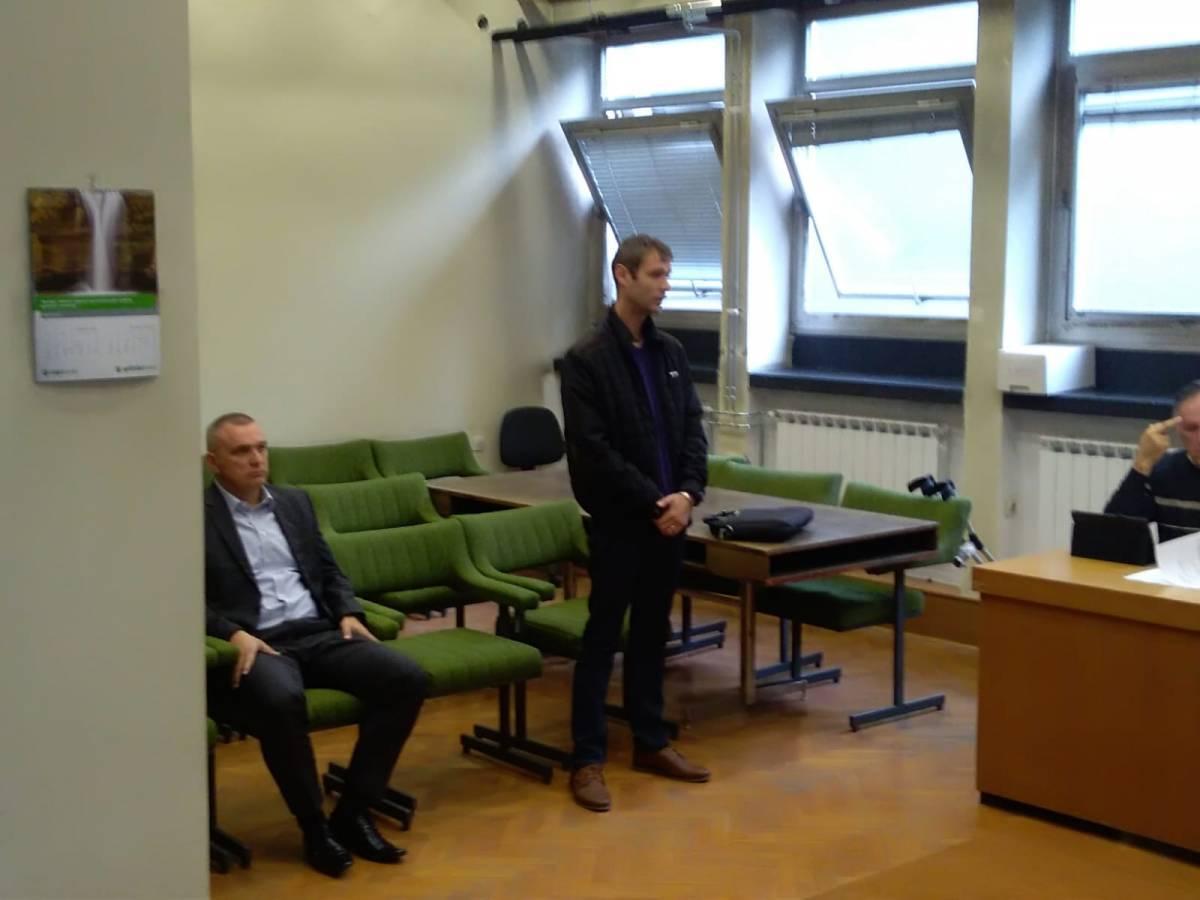 Jučer počelo suđenje dožupanu Vedranu Neferoviću zbog premlaćivanje novinara