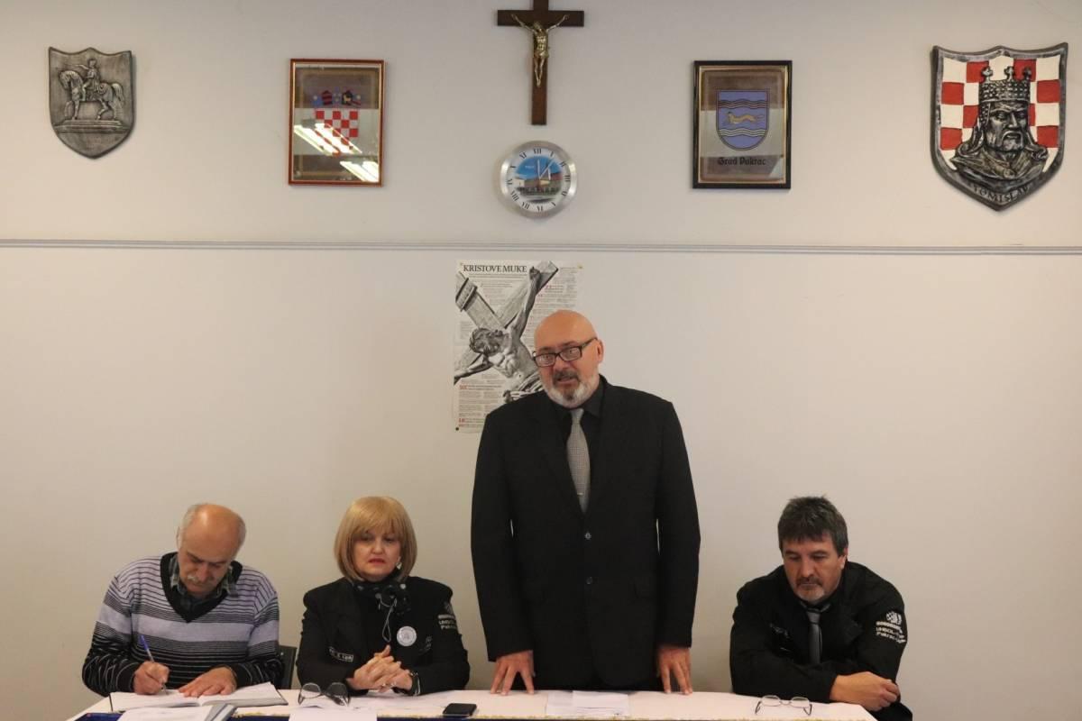 Održana godišnja skupština Udruge branitelja liječenih od PTSP-a Pakrac - Lipik