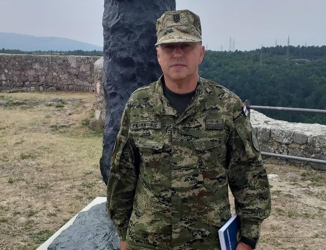 Požežanin Ivica Pejaković promaknut u čin brigadira OSRH