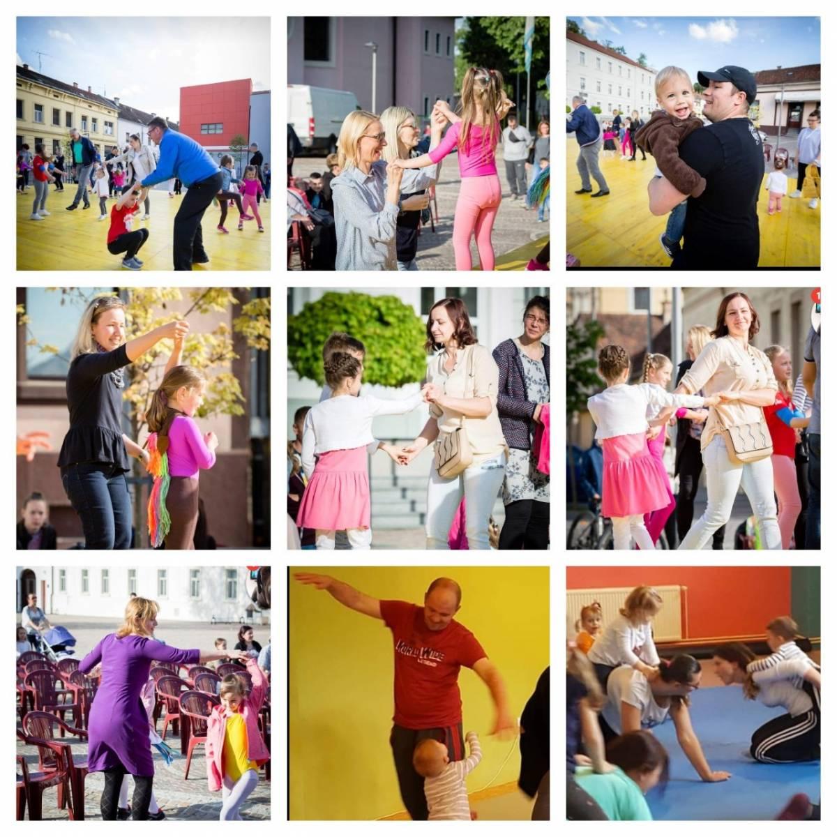 Besplatna Kreativna plesna radionica za roditelje i djecu u sklopu Dječjeg tjedna