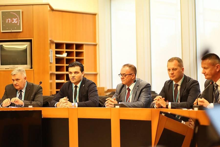 Župan Tomašević na svečanom otvorenju ureda Predstavništva Slavonije, Baranje i Srijema u Bruxellesu