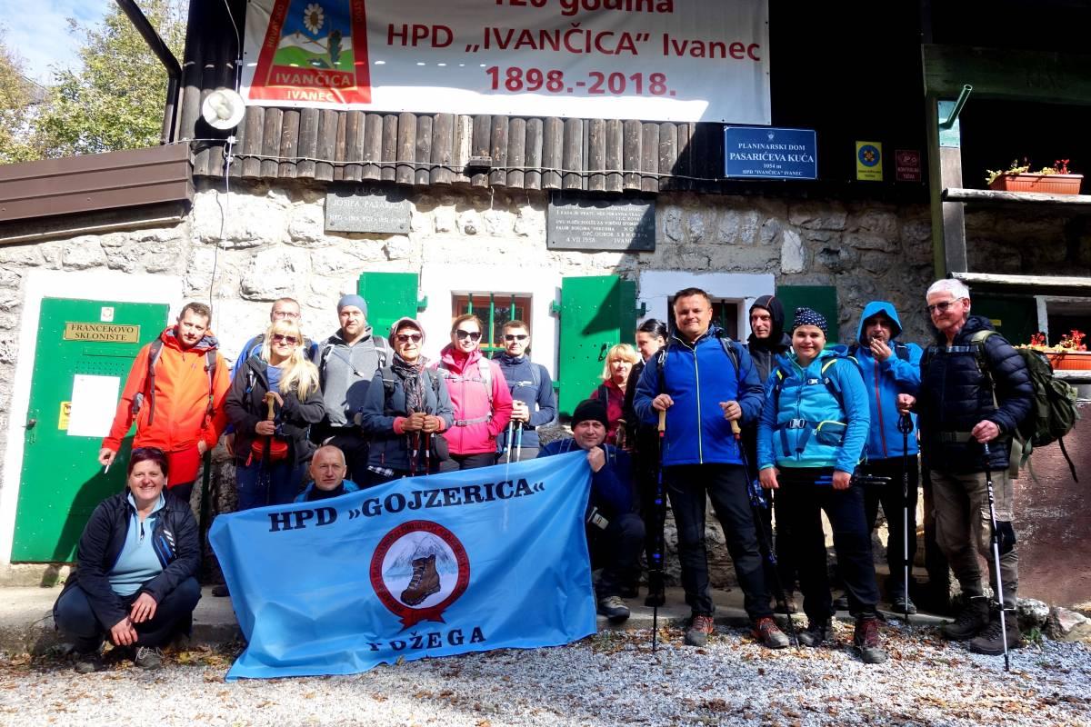 HPD Gojzerica Požega posjetilo je planinu Ivanščicu u Hrvatskom Zagorju