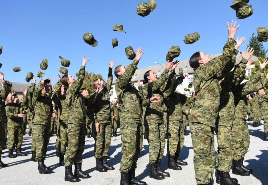 U vojarni ʺ123. brigade HVʺ u Požegi na vjernost Domovini prisegnulo 288 ročnika