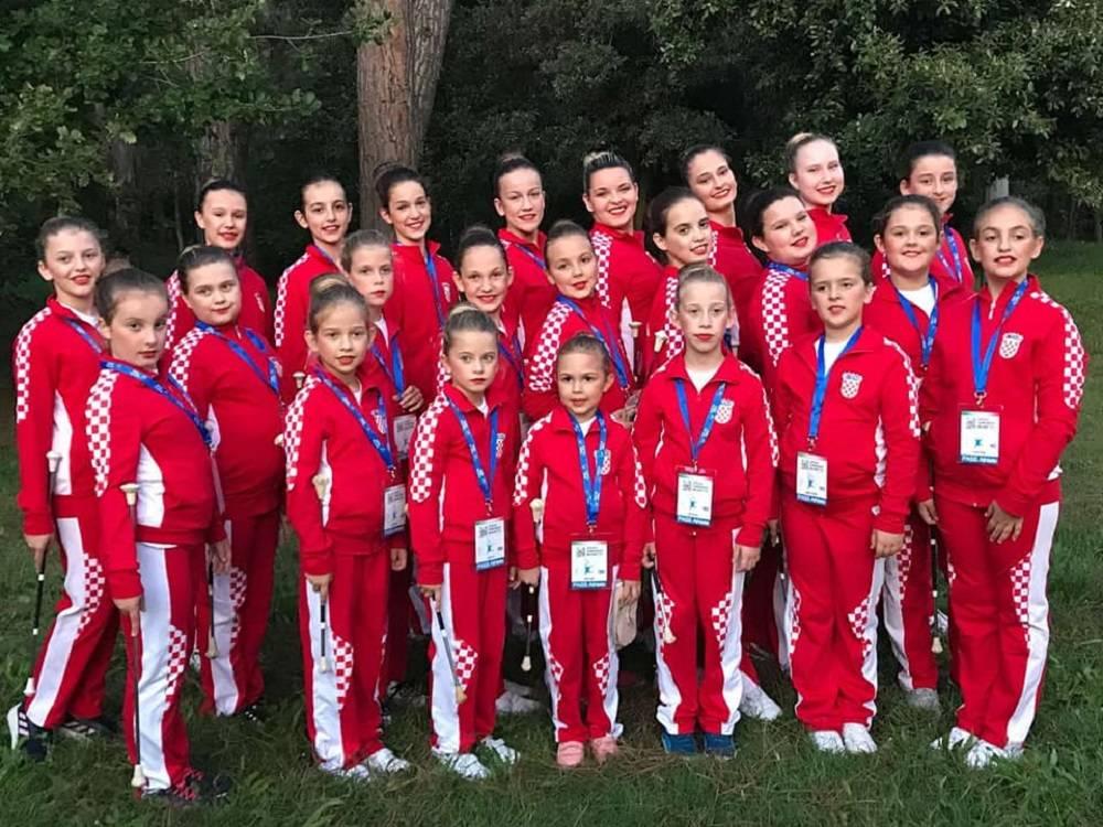PONOS PLETERNICE: Naše mažoretkinje osvojile 3 mjesto na Europskom prvenstvu