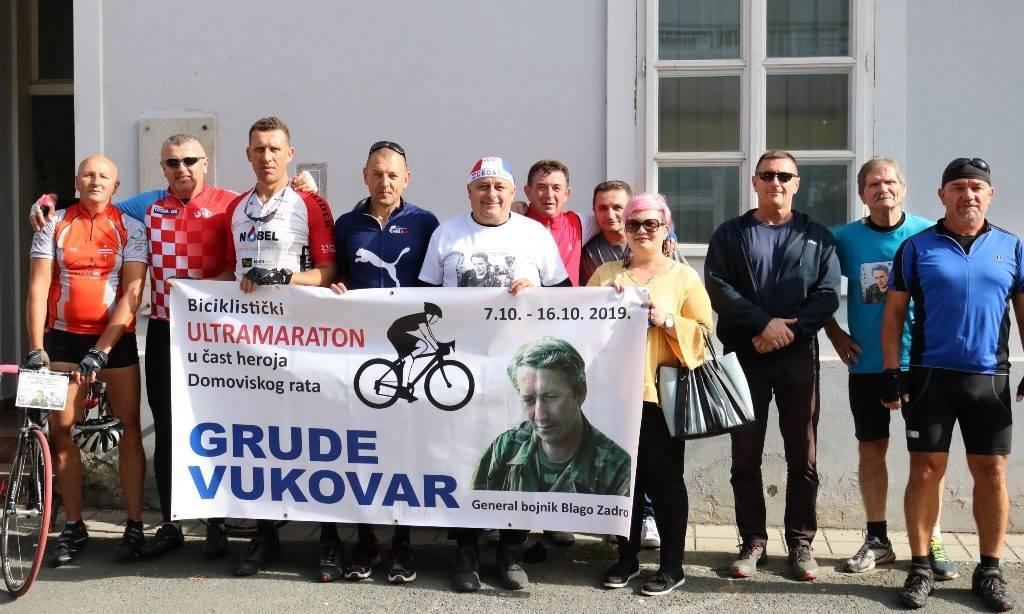 """Biciklistički ultramaraton ʺBlago Zadro"""" Maratonci prošli i kroz Pakrac"""