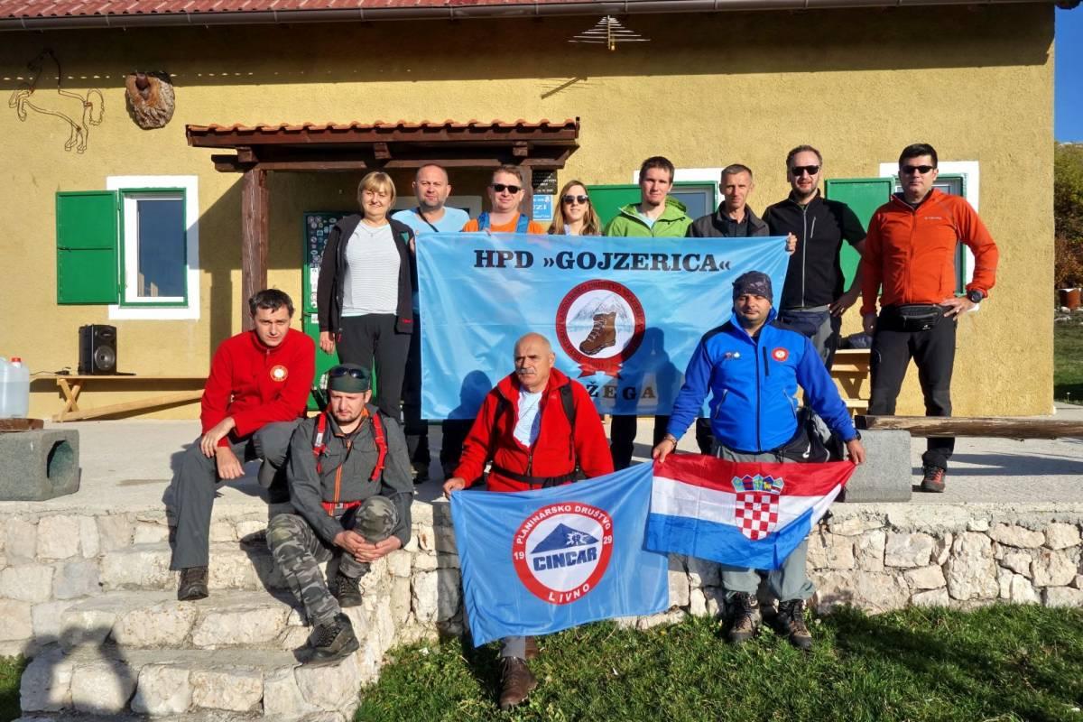 HPD Gojzerica pohodila Cincaru i Dinaru u Bosni i Hercegovini