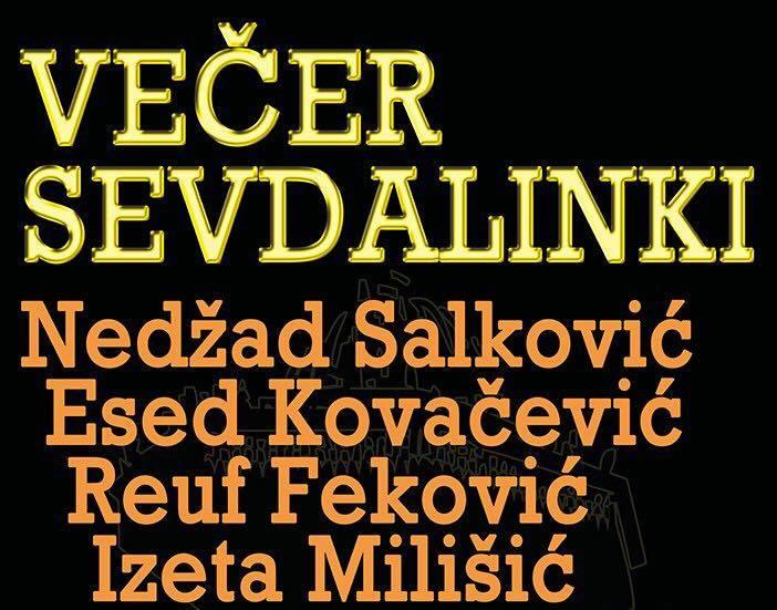 """VEČER SEVDALINKI"" u Slavonskom Brodu, 27. studenog"