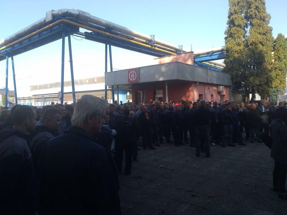 Štrajk se nastavlja. U ponedjeljak dolazi Ministar Medved? Srijeda priređena za veliki štrajk ispred zgrade Županije