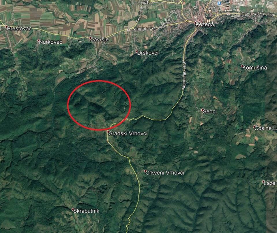 U šumi kod G. Vrhovaca smrtno stradao stariji muškarac, tijelo pronašli 1km od naselja