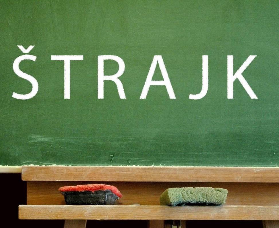 Štrajk se nastavlja - djelatnici škola naše županije štrajkaju u četvrtak