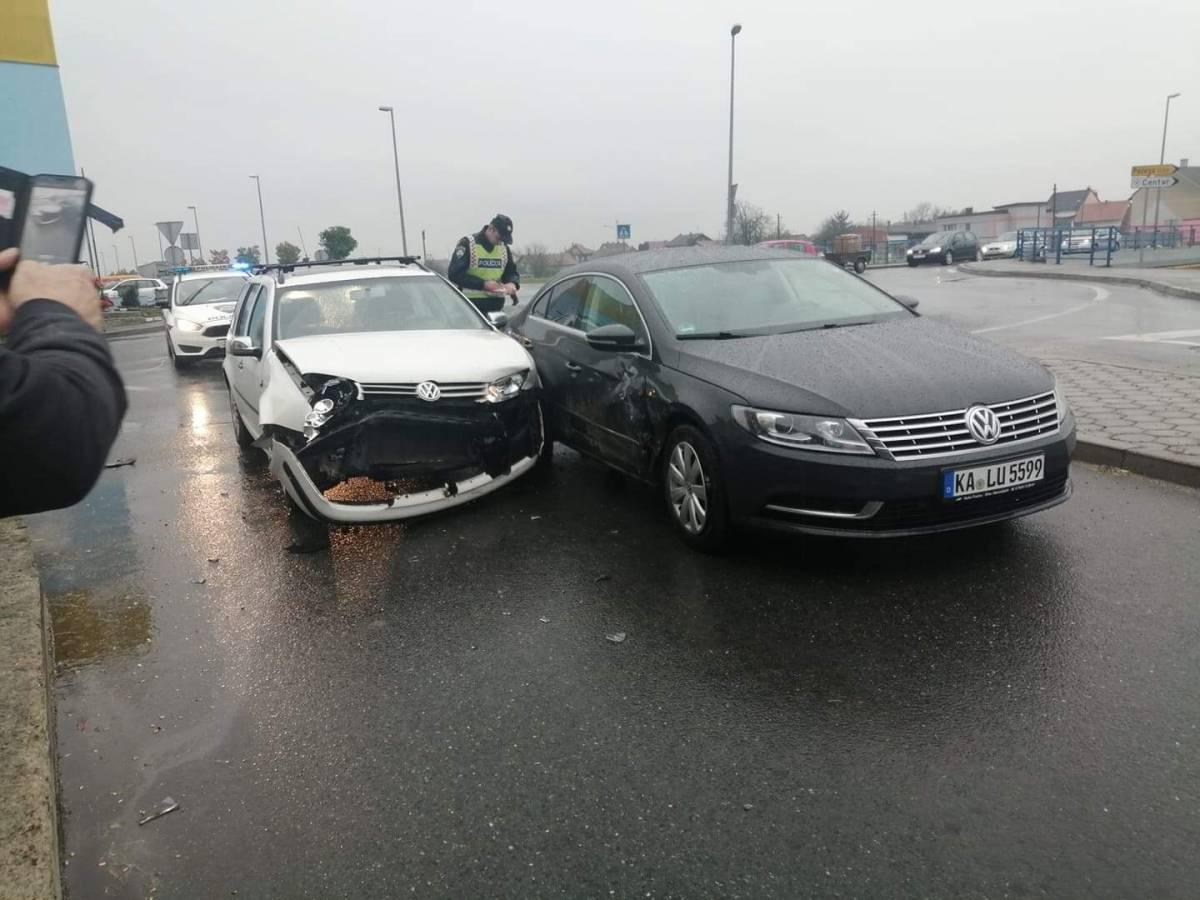 Prometna u Pleternici, jedna osoba prevezena u OŽB Požega