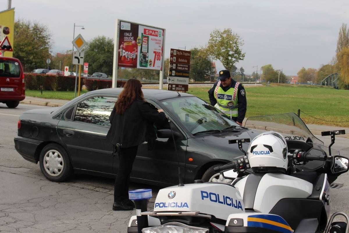 Policija i ovog vikedna nastavlja s pojačanim nadzorom u prometu