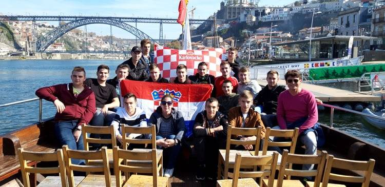 16 učenika Tehničke škole Požega na mobilnosti u Portugalu