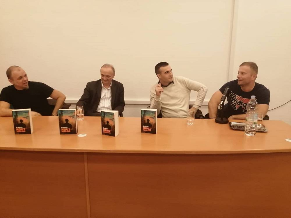 Ivan Lutz i Gordan Sundać u petak predstavili roman ʺNovi poredakʺ