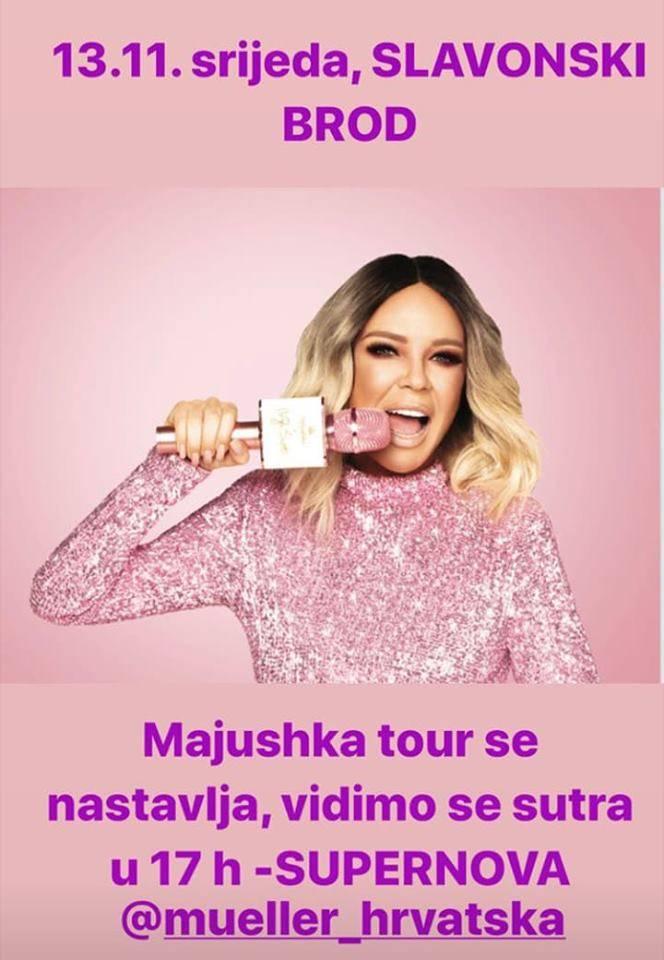 Danas u Supernovu Slavonski Brod dolazi Maja Šuput