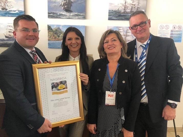 Eko etno salaš SAVUS dobitnik nacionalne nagrade ʺSimply the bestʺ u kategoriji novi projekti u turizmu