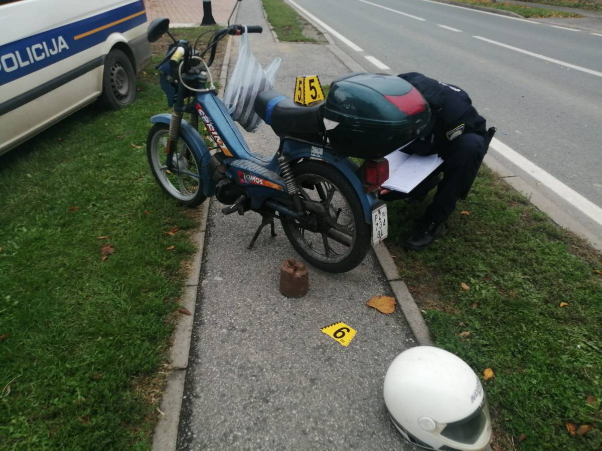 U Pleternici mopedom naletio na psa - vozač završio u OŽB Požega
