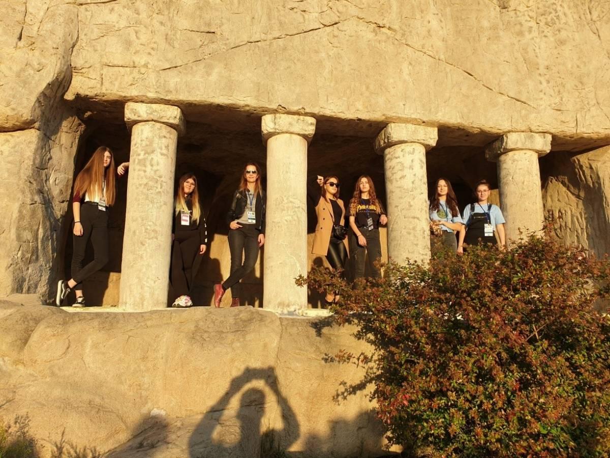 Učenice Ekonomske škole Tea, Karla, Ružica, Marija i Antonija na razmjeni u Turskoj