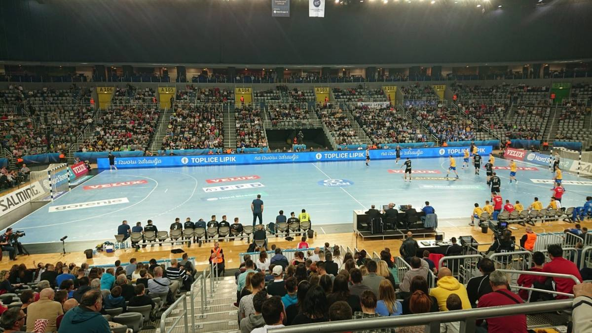 Toplice Lipik predstavile se na utakmici rukometne Lige prvaka