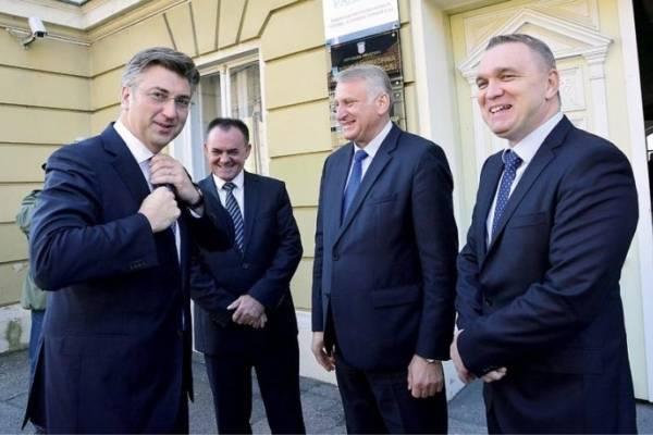 Plenki i pet ministara u Pleternici na obilježavanju Dana grada, a u Požegu došao doslovno vozač tajnice zamjenika nečega