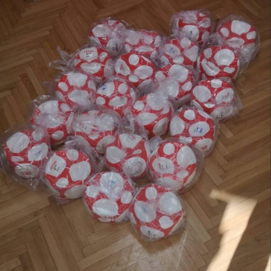 Klubovima Županijske malonogometne lige PSŽ Sveti Nikola donio nove lopte