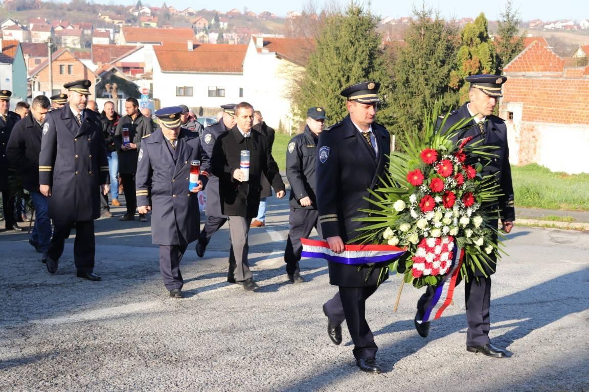 Obilježena 28. obljetnica pogibije virovitičkih policajaca u obrani Pakraca