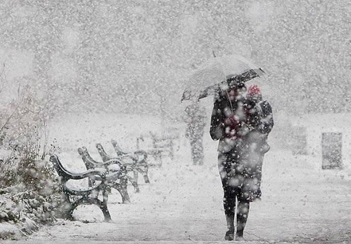 Danas pretežno oblačno i kišovito, a na kraju dana i snijeg