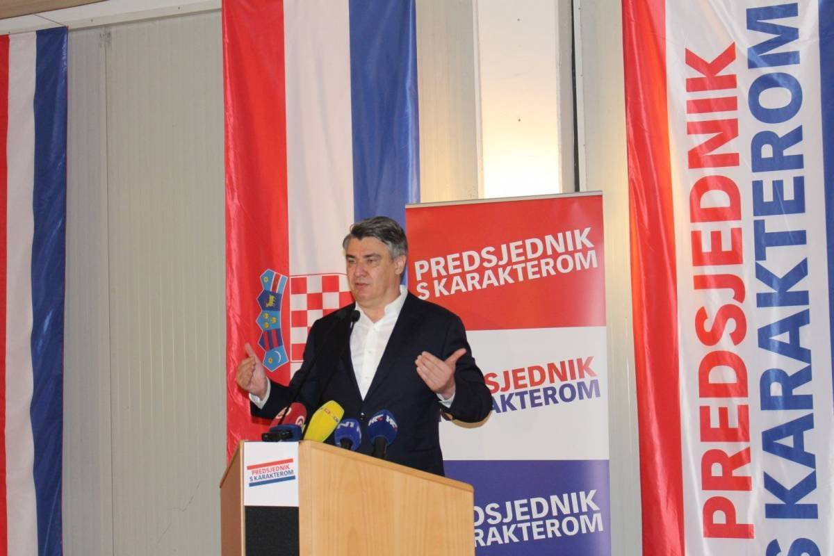 Predsjednik RH Zoran Milanović će biti gost svečane prisege ročnika na Trgu sv. Trojstva u subotu