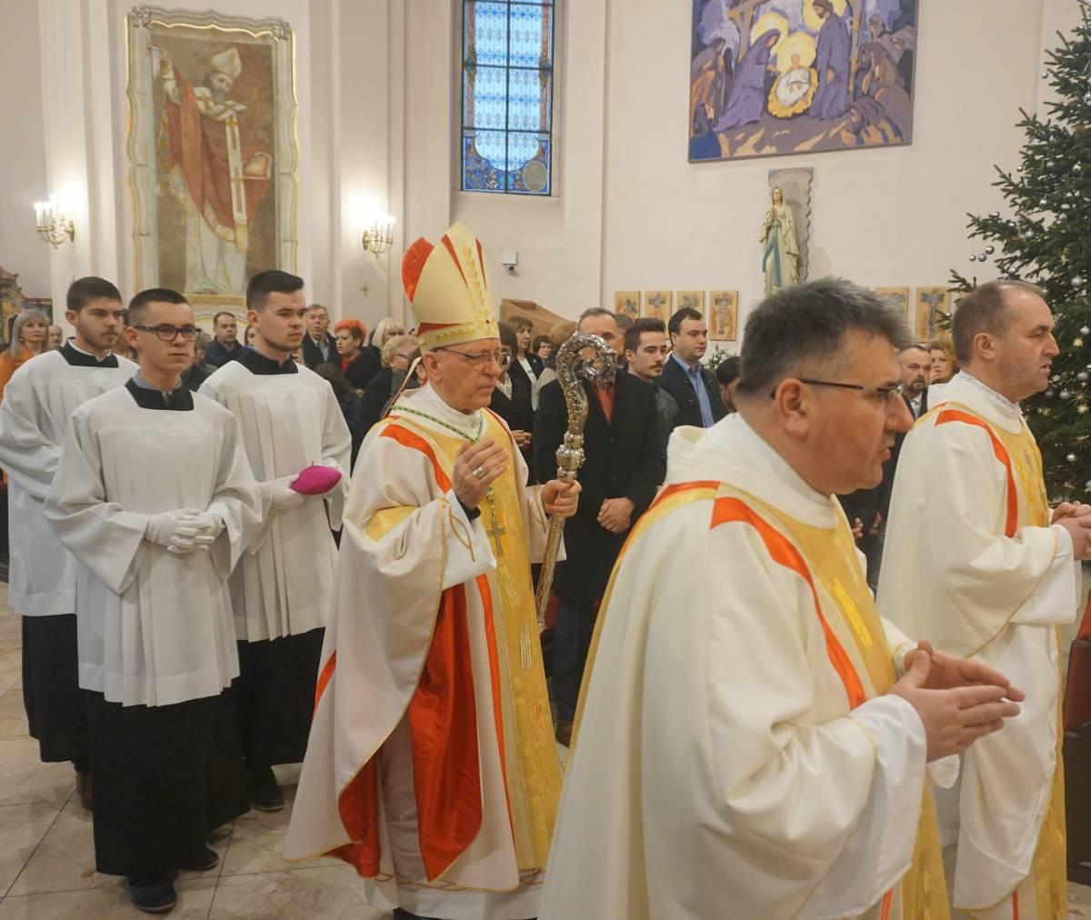 Svetkovina Isusova rođenja u požeškoj Katedrali