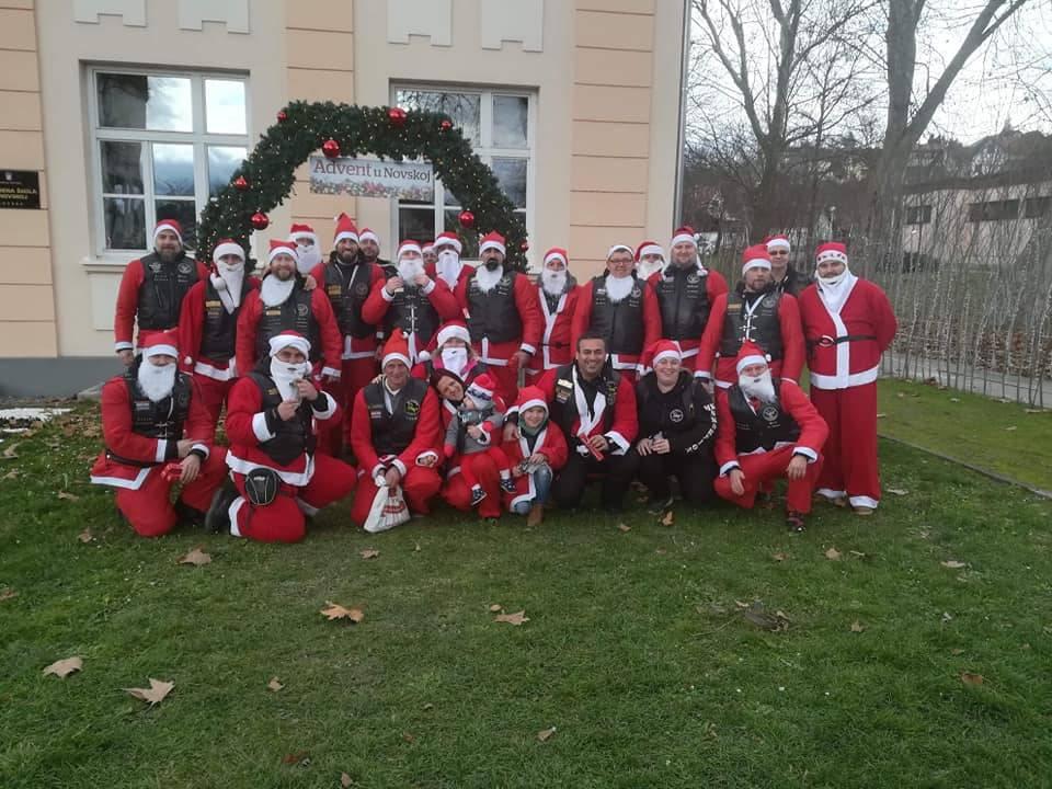 Lipički Moto klub Iohannites sudjelovao u blagdanskoj akciji darivanja