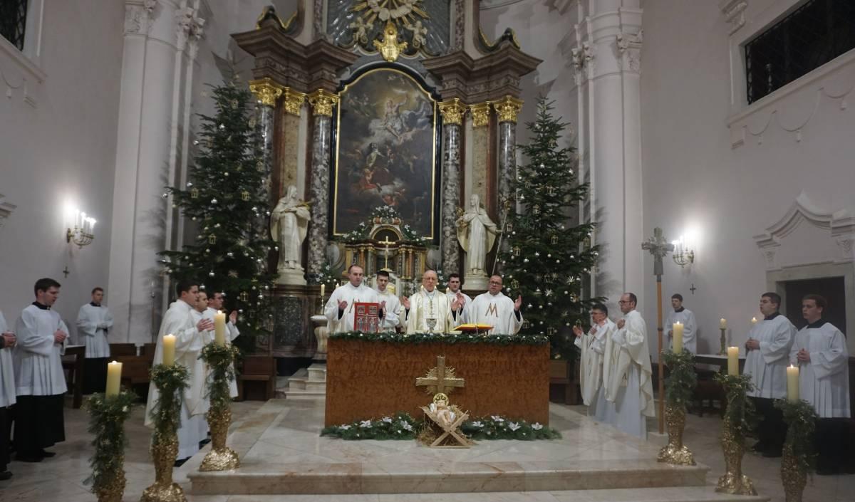 Misa zahvalnica na Staru godinu u požeškoj Katedrali