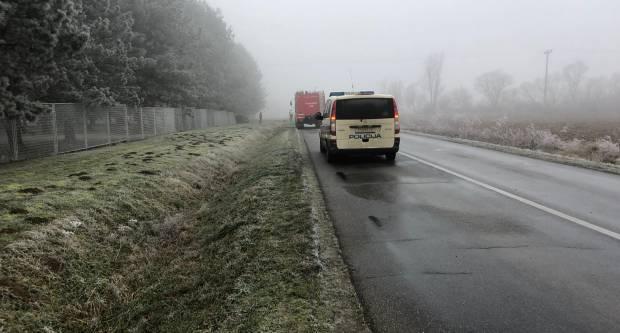 Cesta između Vetova i Kutjeva zbog zaleđenog kolnika ZATVORENA za sav promet