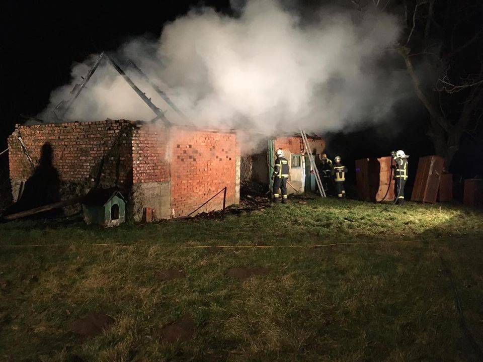 Jučer gorjelo u Doljanovcima, požar gasili vatrogasci DVD-a Kaptol, Doljanovci i Podgorje