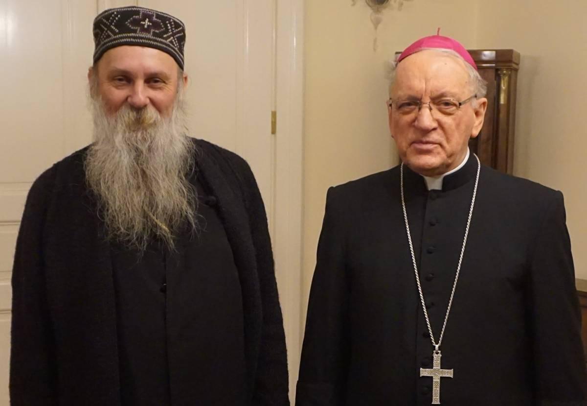 Biskup Škvorčević primio episkopa Jovana