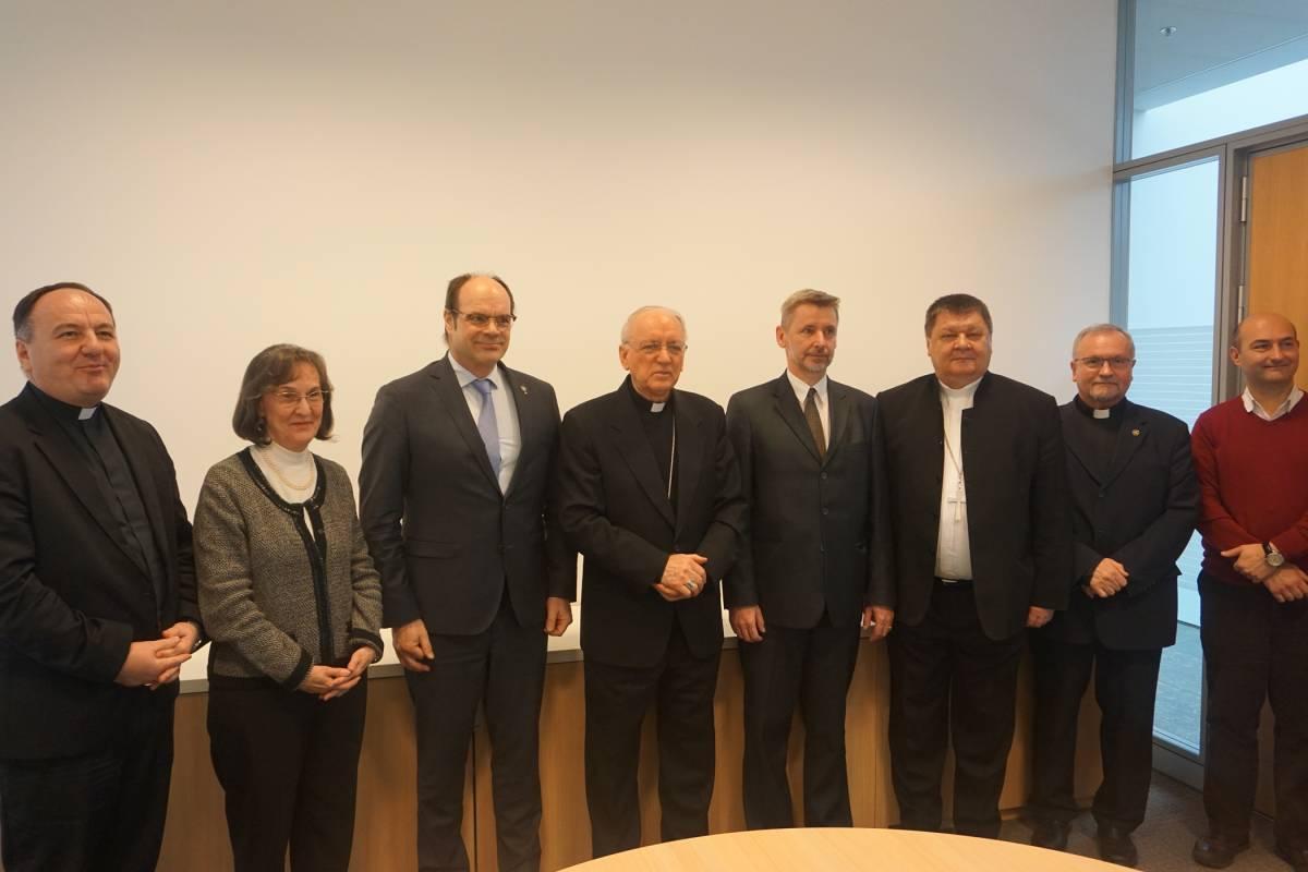 Susret predsjednika Konferencije europskih Crkava s Vijećem HBK za ekumenizam i dijalog