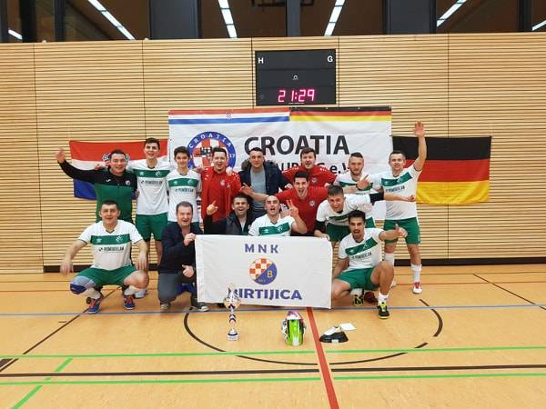 Igrači MNK Birtijca se s turnira u Njemačkoj vratili s osvojenim prvim mjestom